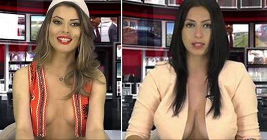 Albanian-TV-presenter