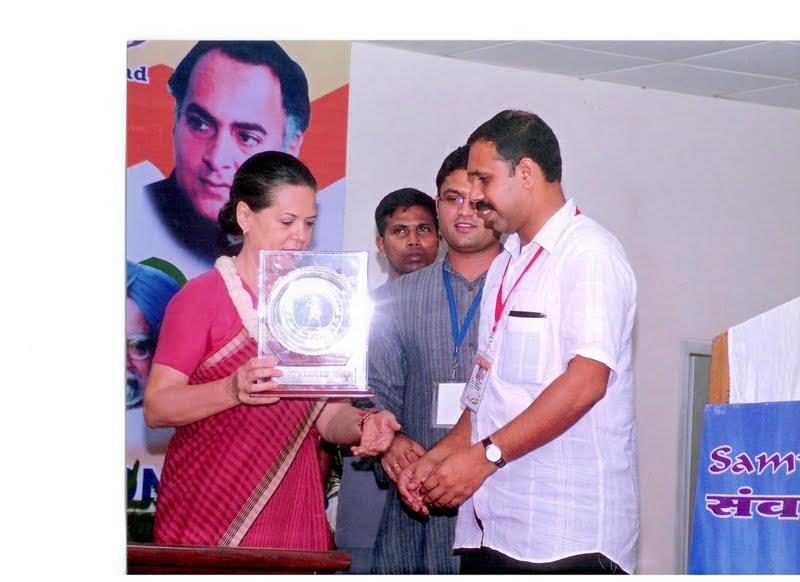 Sajeev joseph -Sonia Gandhi